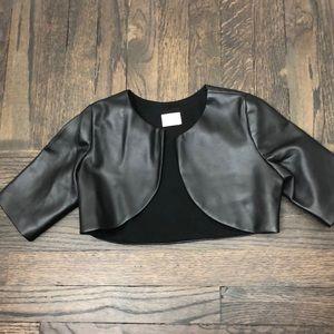 Zoe LTD vegan leather bolero